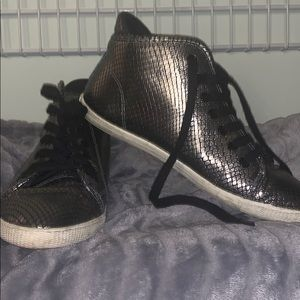 Marc Jacobs Snake Print fashion sneakers